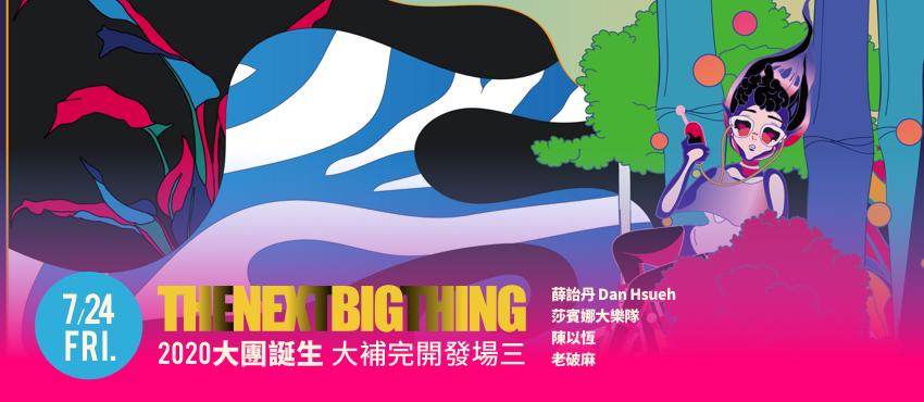 The Next Big Thing 大團誕生(大補完開發場3)