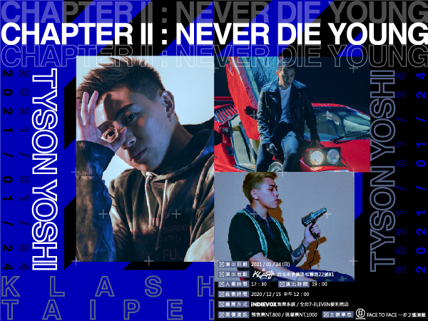 Chapter II -NEVER DIE YOUNG